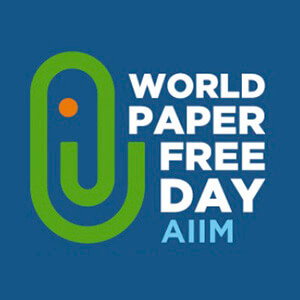 World paper free day AIIM
